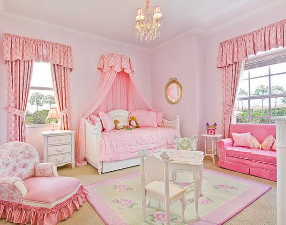 Pink Room Décor Ideas for Valentine's Day _38