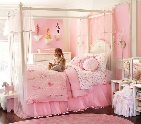 Pink Room Décor Ideas for Valentine's Day _39