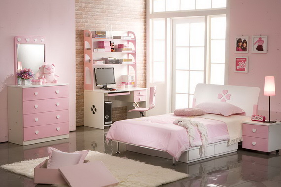 Pink Room Décor Ideas for Valentine's Day _62