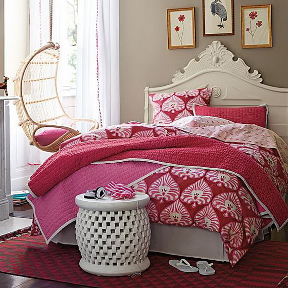 Pink Room Décor Ideas for Valentine's Day _76