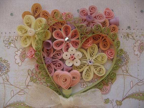 Quilled Valentine 39 s Day Craft Projects