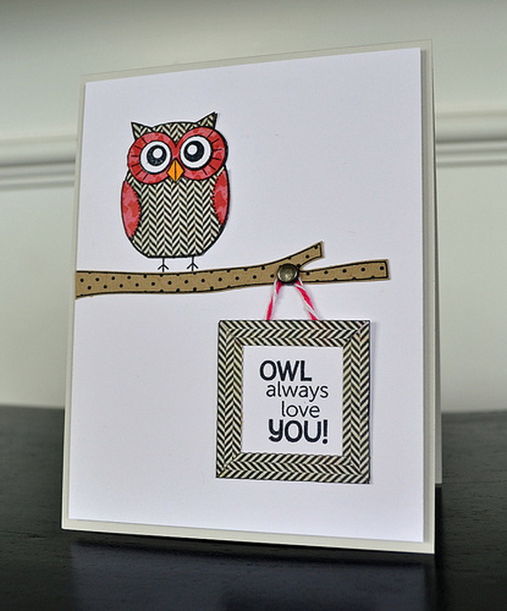 Unique Homemade Valentine Card Design Ideas