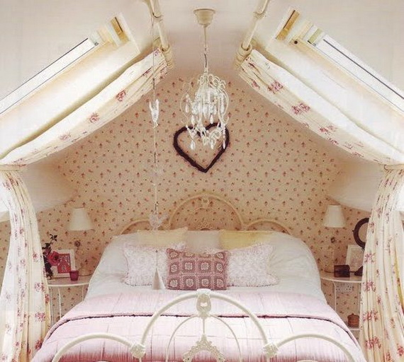 Valentine's Day Bedroom Decoration Ideas for Your Perfect Romantic Scene_35