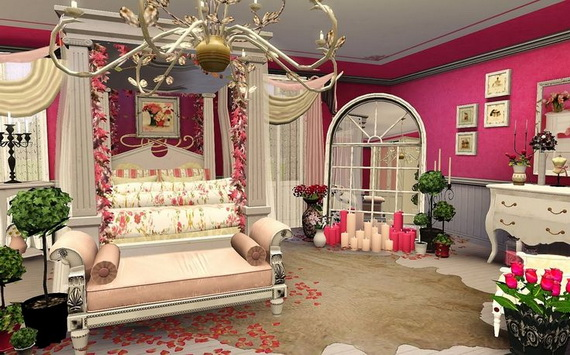 Valentine's Day Bedroom Decoration Ideas for Your Perfect Romantic Scene_39
