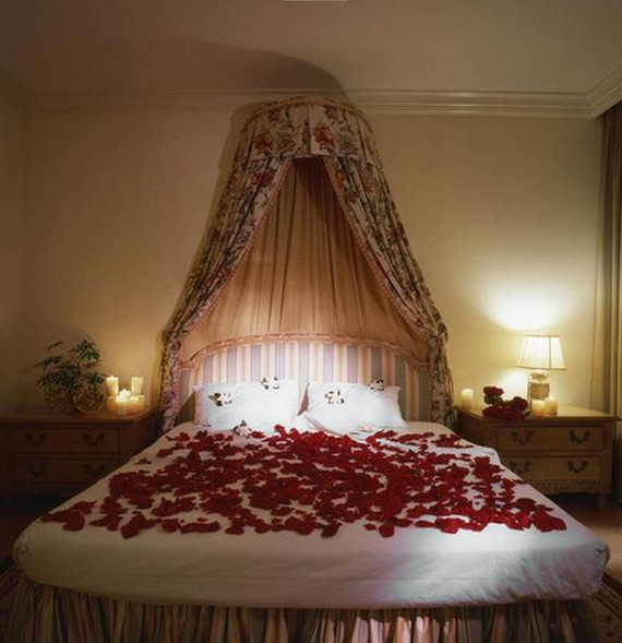 Valentine's Day Bedroom Decoration Ideas for Your Perfect Romantic Scene_53