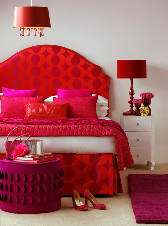 Valentine's Day Bedroom Decoration Ideas for Your Perfect Romantic Scene_74