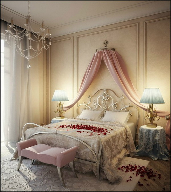 Valentine's Day Bedroom Decoration Ideas for Your Perfect Romantic Scene_79