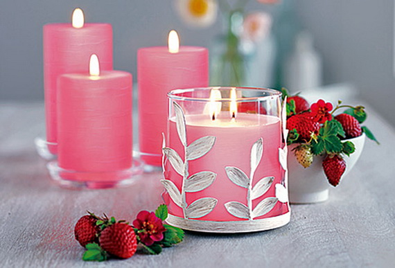 Beautiful Home Decorating Candles For Valentine's Day_44