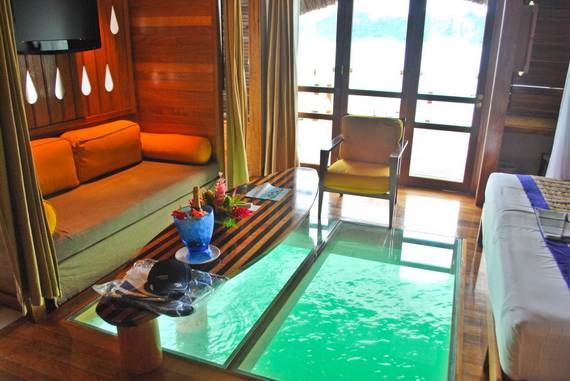 Dream Vacation Best Overwater Bungalows In Tahiti Le
