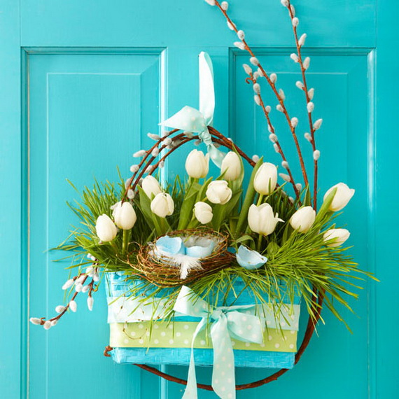 Easter and Spring Door Decoration Ideas_15
