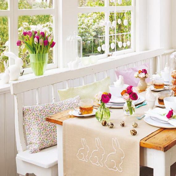Elegant Easter Decor Ideas For An Unforgettable Celebration_17