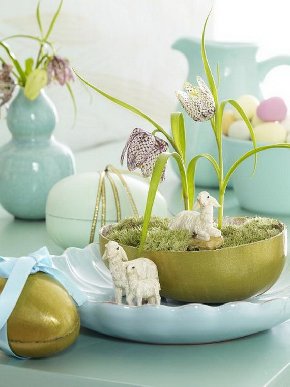Elegant Easter Decor Ideas For An Unforgettable Celebration_28