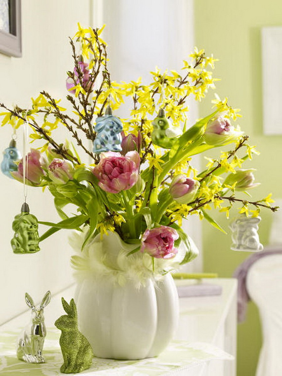 Elegant Easter Decor Ideas For An Unforgettable Celebration_35