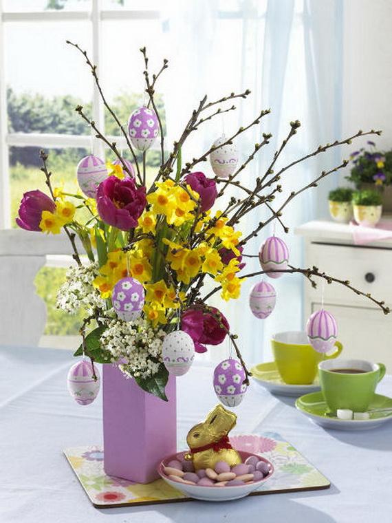 Elegant Easter Decor Ideas For An Unforgettable Celebration_42