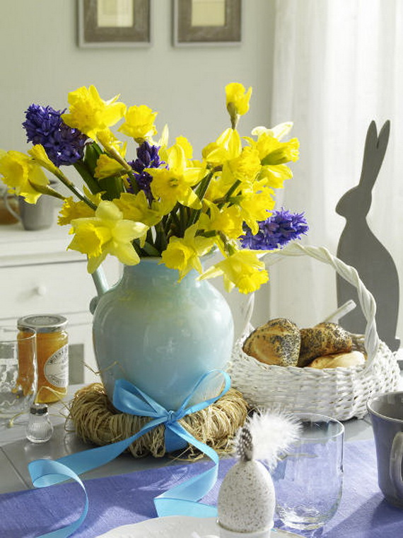 Elegant Easter Decor Ideas For An Unforgettable Celebration_47