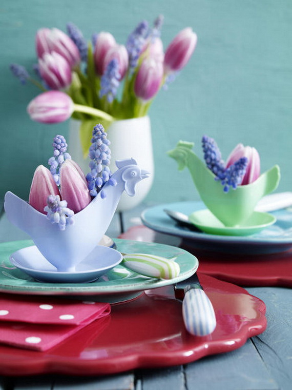 Elegant Easter Decor Ideas For An Unforgettable Celebration_56