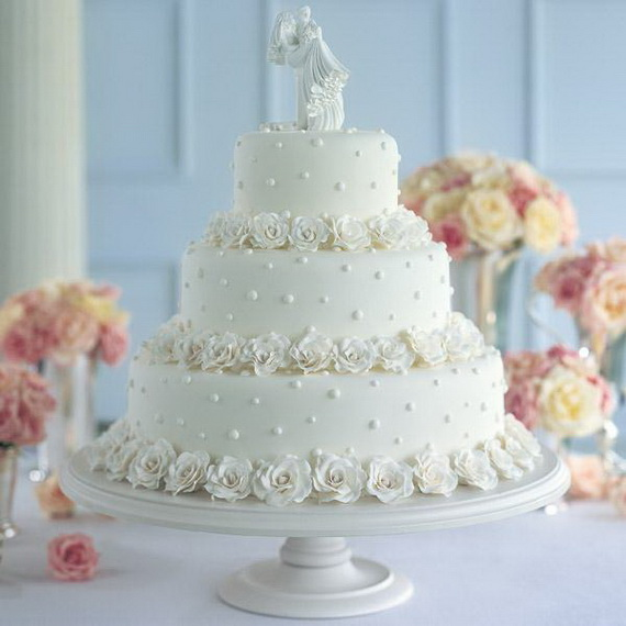Fabulous Easter Wedding Cake Ideas & Designs_01