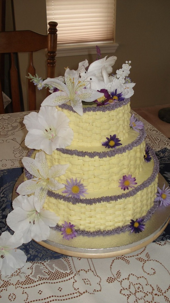 Fabulous Easter Wedding Cake Ideas & Designs_1