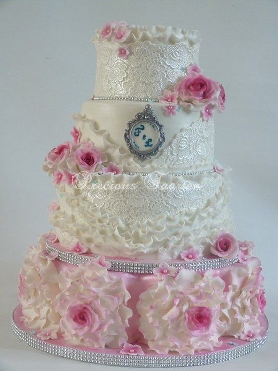 Fabulous Easter Wedding Cake Ideas & Designs_10 (3)