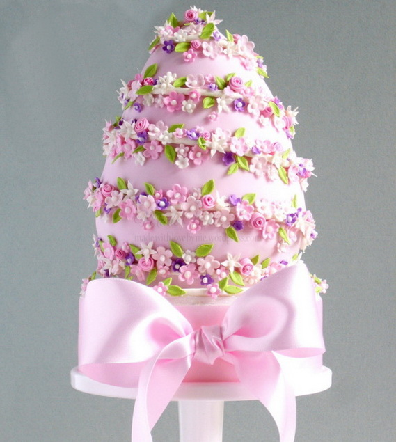 Fabulous Easter Wedding Cake Ideas & Designs_11 (2)