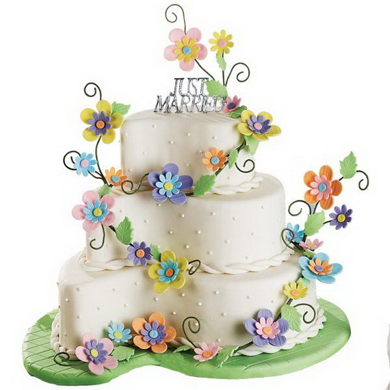 Fabulous Easter Wedding Cake Ideas & Designs_12