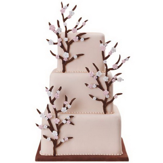 Fabulous Easter Wedding Cake Ideas & Designs_28