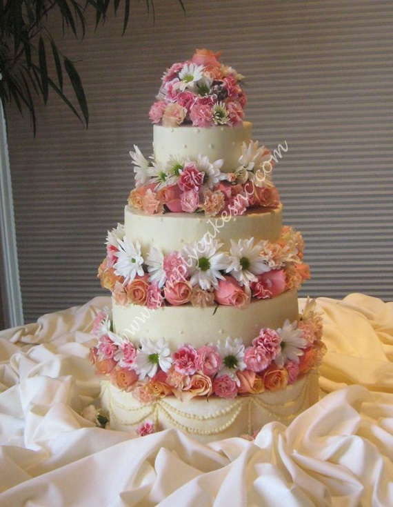 Fabulous Easter Wedding Cake Ideas & Designs_4