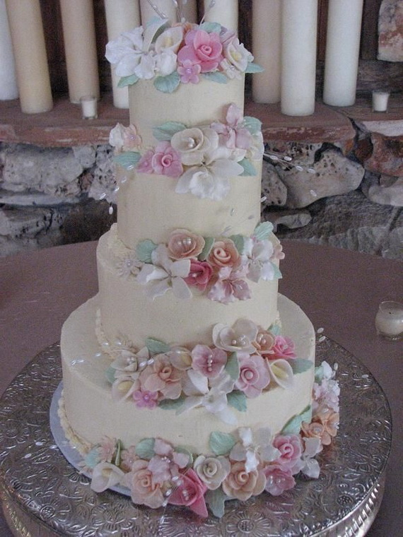 Fabulous Easter Wedding Cake Ideas & Designs_8