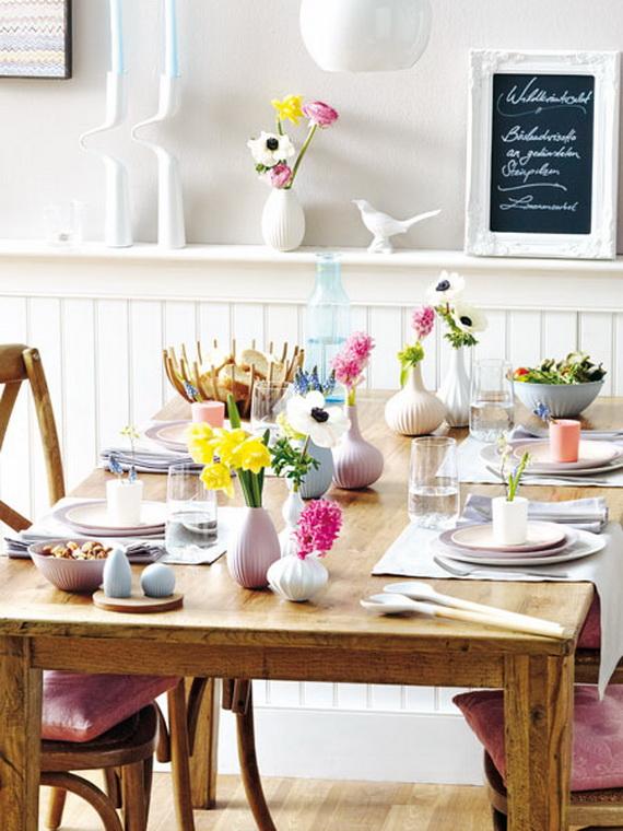 Flower Decoration Ideas To Celebrate Spring Holidays _09
