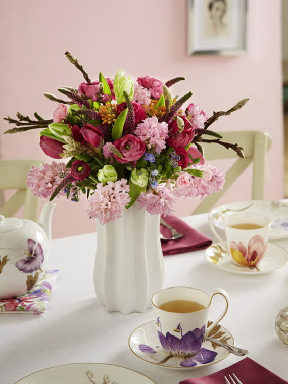 Flower Decoration Ideas To Celebrate Spring Holidays _13