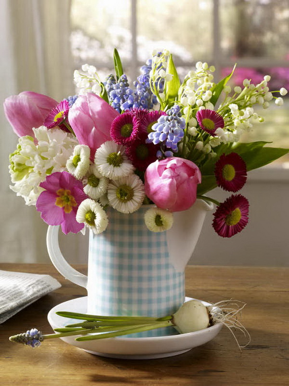 Flower Decoration Ideas To Celebrate Spring Holidays _20
