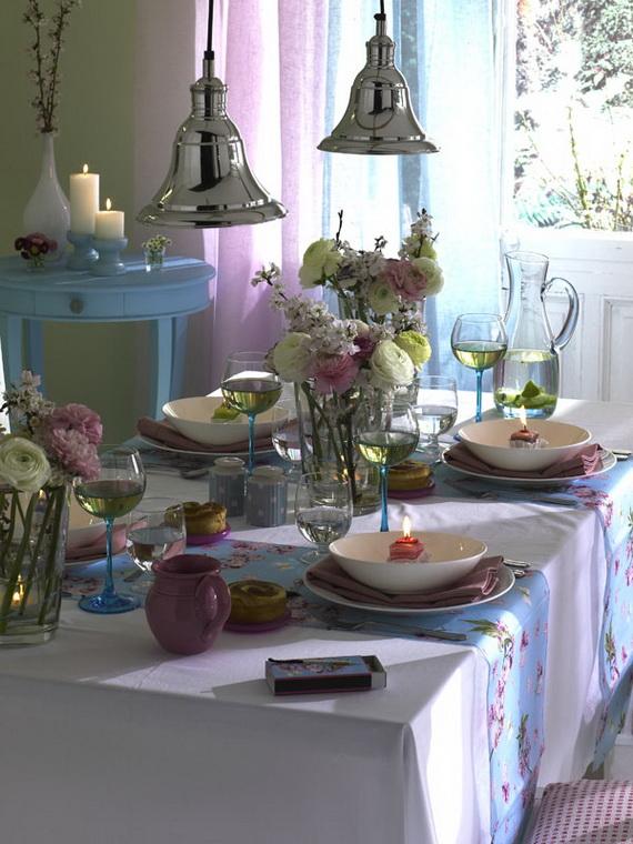 Flower Decoration Ideas To Celebrate Spring Holidays _28