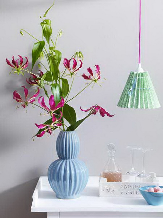 Flower Decoration Ideas To Celebrate Spring Holidays _32