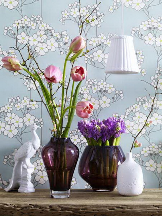 Flower Decoration Ideas To Celebrate Spring Holidays _33