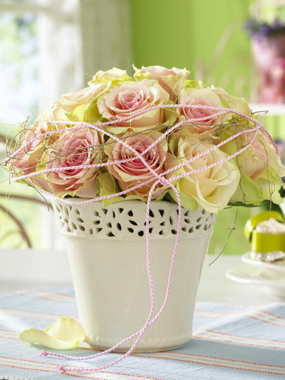 Flower Decoration Ideas To Celebrate Spring Holidays _43