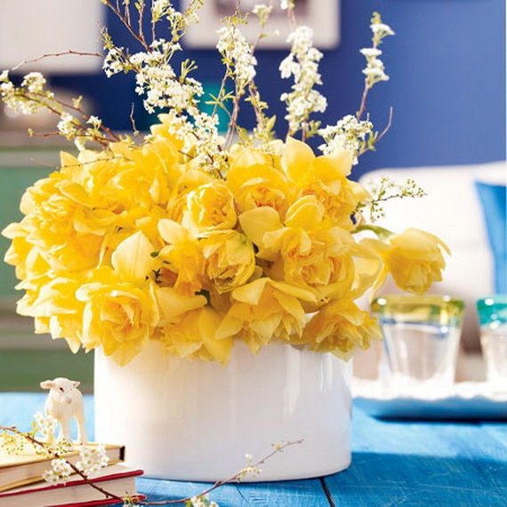 Inspired Yellow Spring Craft and Home Decor Ideas_11