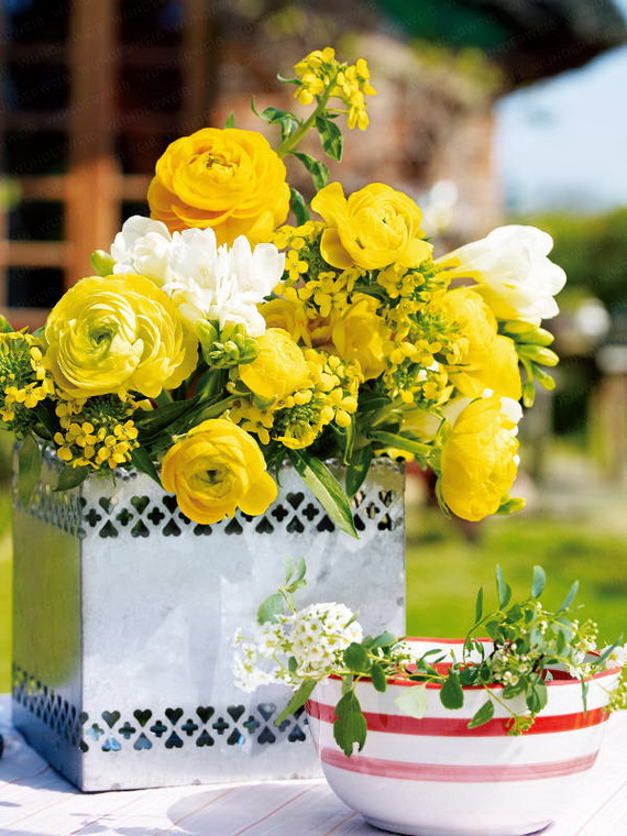 Inspired Yellow Spring Craft and Home Decor Ideas_37