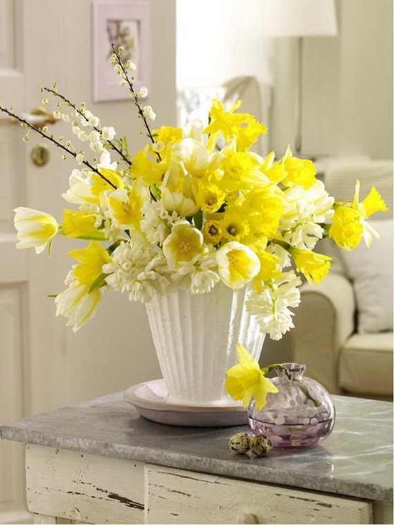 Inspired Yellow Spring Craft and Home Decor Ideas_46