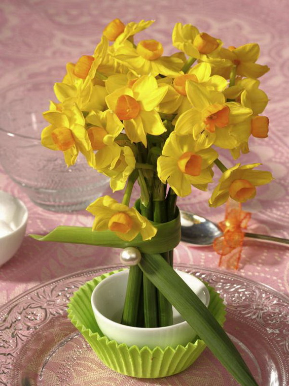 Inspired Yellow Spring Craft and Home Decor Ideas_49