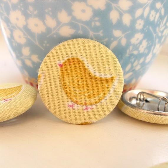 Inspired Yellow Spring Craft and Home Decor Ideas_67