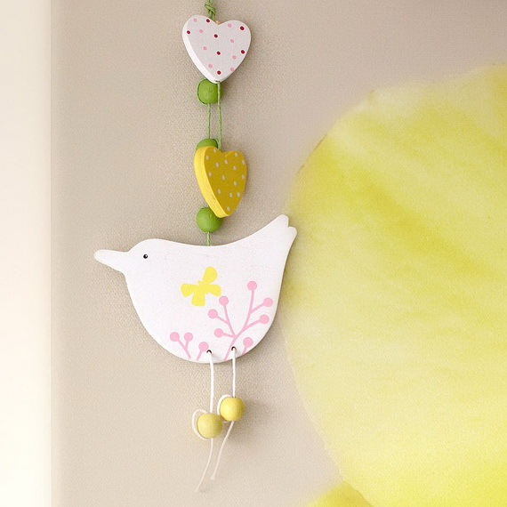 Inspired Yellow Spring Craft and Home Decor Ideas_71