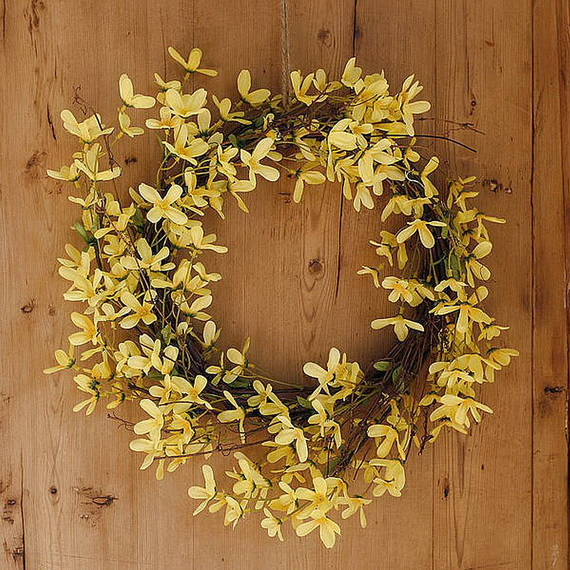 Inspired Yellow Spring Craft and Home Decor Ideas_80