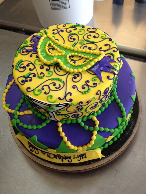 Peachy 60 Mardi Gras King Cake Ideas Family Holiday Net Guide To Family Funny Birthday Cards Online Alyptdamsfinfo