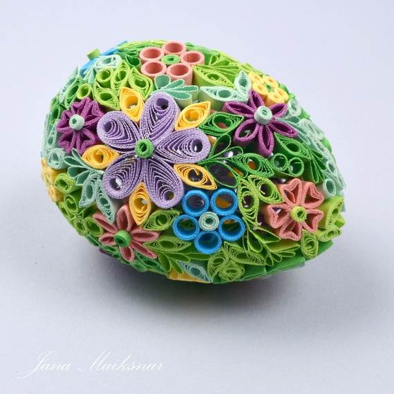 Creative Quilled Easter Designs And Ideas Family Holiday