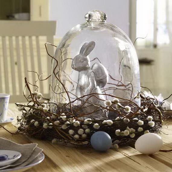 Ostern: Tischdeko