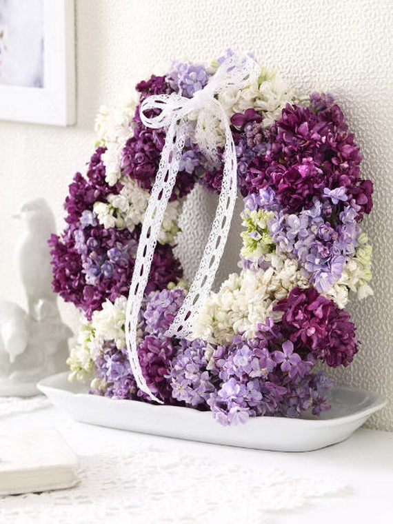 Spring Wreaths - Our Flowers Messengers For Happy Holidays_46