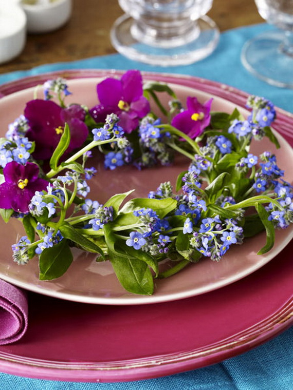 Spring Wreaths - Our Flowers Messengers For Happy Holidays_47