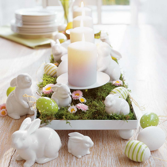 Spring lights on the Easter table _37
