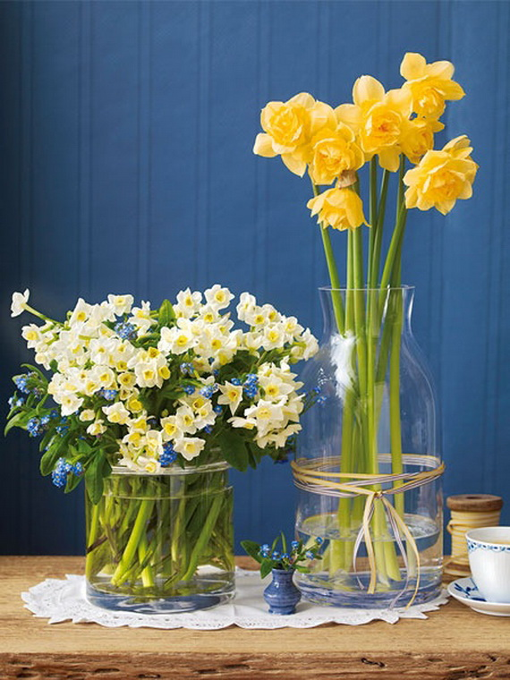 Spring lights on the Easter table _42