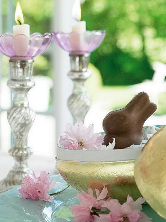 Spring lights on the Easter table _49